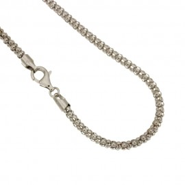 Collana in oro bianco 18Kt 750% Unisex