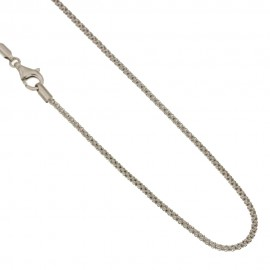Collana in oro bianco 750% 18Kt unisex