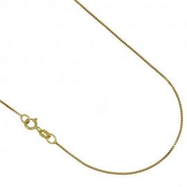 Yellow gold 18kt 750/1000 15.75 inch length venetian chain