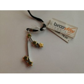Brosway stainless steel, yellow gold necklace, unisex BCZ12