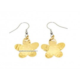 Stainless steel, flowers earrings Zable ledies R7023