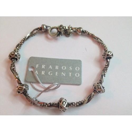 925 burnished sterling silver, bracelet unisex
