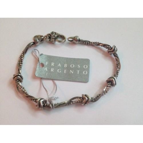 925 burnished sterling silver, bracelet
