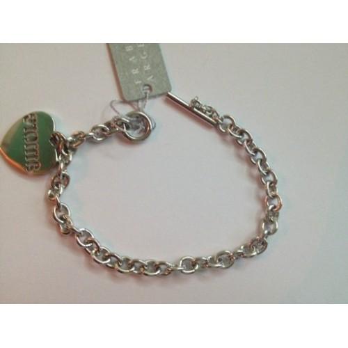 925 sterling silver, bracelet, heart-shaped pendant