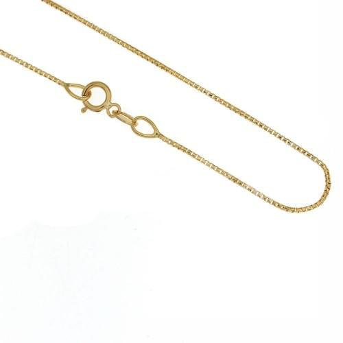 nuovo stile 26b57 f0eea Collana in oro giallo 18 Kt modello veneziana