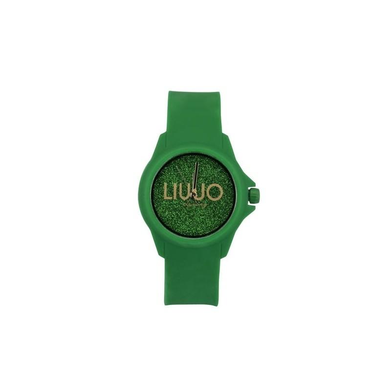 LIU-JO ENJOY watch woman green strass TLJ558