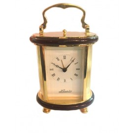 Watch-Alarm clock golden brass Lauris W700-50
