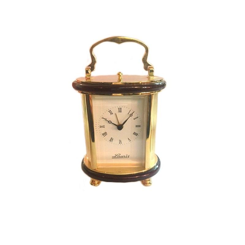Watch-Alarm clock golden brass Lauris W700-50