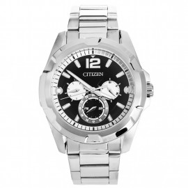 Citizen stainless steel man wristwatch AG8330-51E