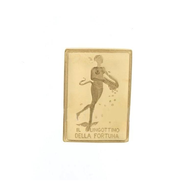 Lingotto in oro puro titolo 999% Unoaerre