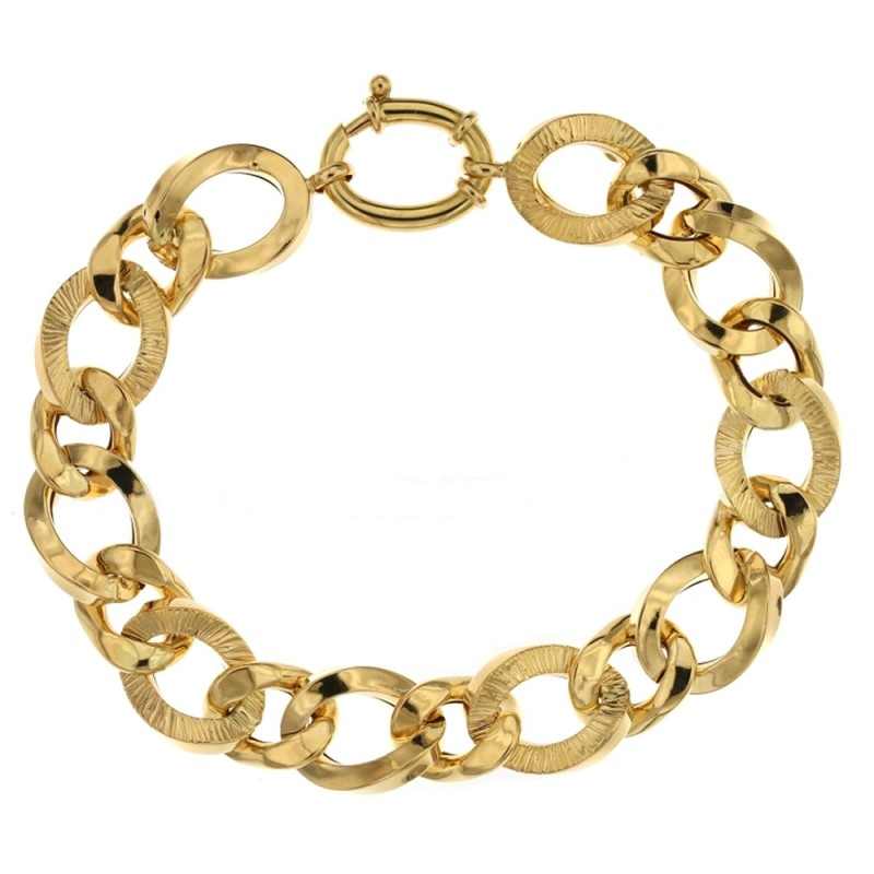 Gold 18 K woman link chain