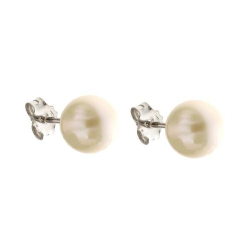 Orecchini in oro 18 Kt con perle coltivate