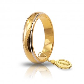 Yellow gold 18 K gr 7.00 wedding ring