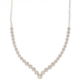 White gold 18 K Wedding Collection Necklace