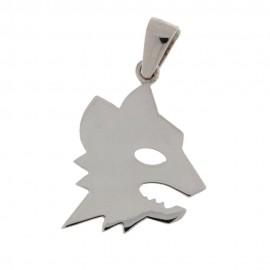 Gold 18 K Wolf Pendant