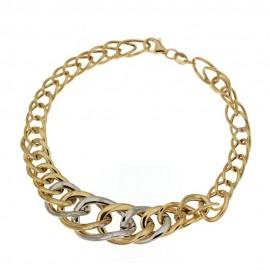 Bracciale in oro 18 Kt 750/1000 a catena da donna