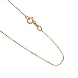 Collana in oro 18 Kt 750/1000 modello veneziana unisex
