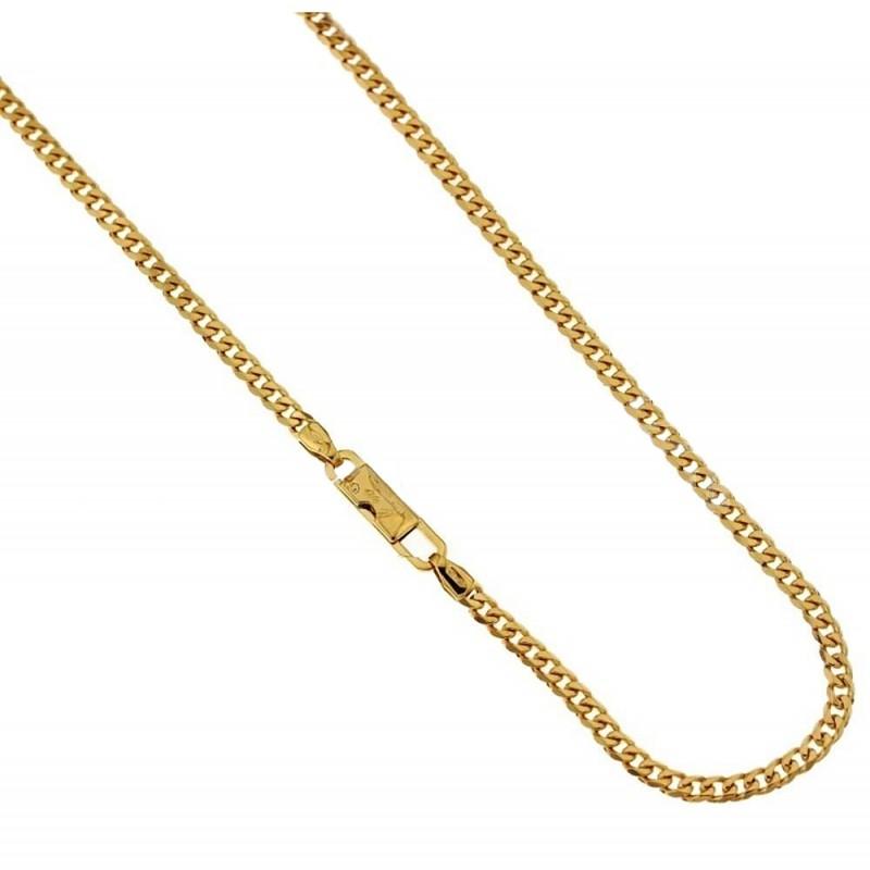 18k 750/1000 Solid gold grumetta chain
