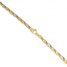 Gold 18k 750/1000 Link chain man bracelet