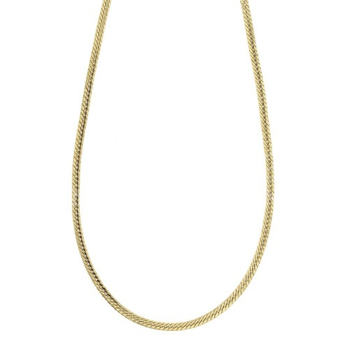 Yellow gold 18k 750/1000 length 19.70 inch Ear chain necklace