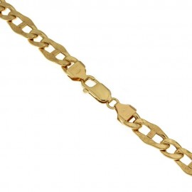 Yellow gold 18k 750/1000 Marina type man bracelet