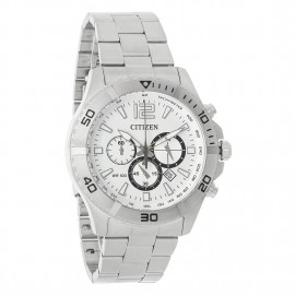 Satin Stainless Steel Tachymeter Chronograph Citizen Men's Watch