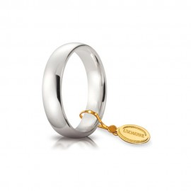 Gold 18 Kt 750/1000 classic unoaerre wedding ring