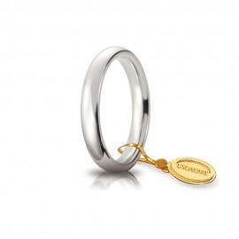 Fede Unoaerre in oro modello Comoda larghezza fascia 3,5 mm, lucida 35AFC1 unisex