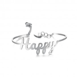 "Bracciale HAPPY ""The good things in life are better with you"""