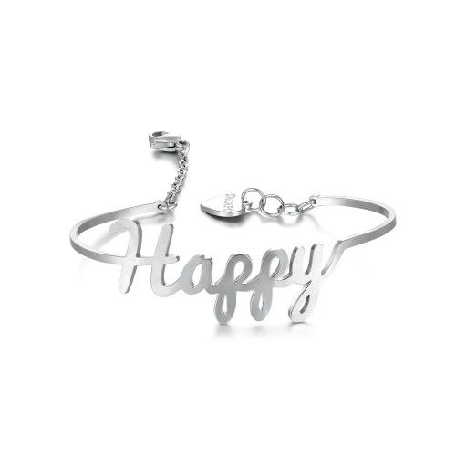 """Bracciale HAPPY """"The good things in life are better with you"""""""