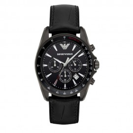 Stainless Steel Emporio Armani Chronograph Watch for Men AR6097