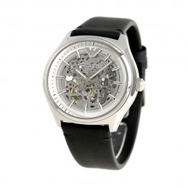 Stainless Steel Emporio Armani Automatic Watch for Men AR60003