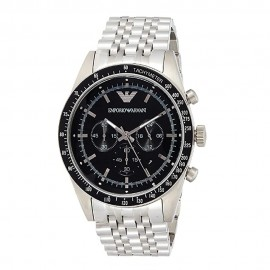Stainless Steel Emporio Armani Chronograph Watch for Men AR5988